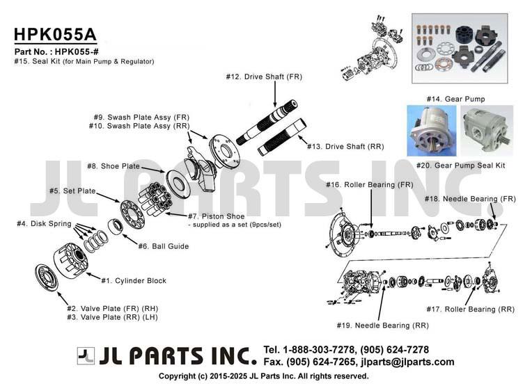 new hydraulic pump manufacturers